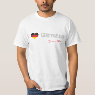 JERRILLA Design Custom T-shirt I love Germany