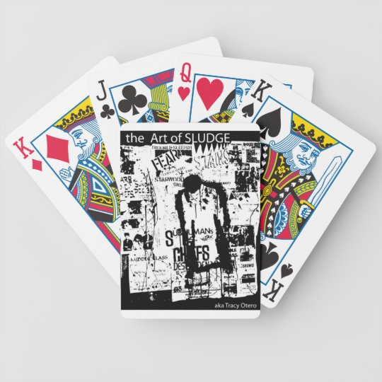 Jerry Atric Stains Tribute by Tracy Otero Bicycle Playing Cards