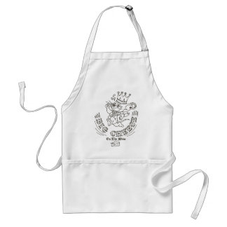 Jerry Big Cheese On The Moon 1 Adult Apron