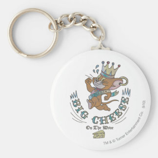 Jerry Big Cheese On The Moon 2 Keychain