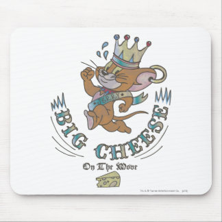 Jerry Big Cheese On The Moon 2 Mouse Pad