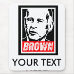 JERRY BROWN 2010 MOUSE PAD