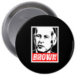 JERRY BROWN 2010 PIN