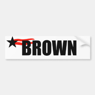 JERRY BROWN BUMPER STICKERS