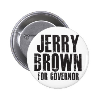 Jerry Brown For Governor 2010 Button
