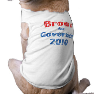 Jerry Brown for Governor 2010 Star Design T-Shirt