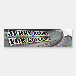 Jerry Brown for Governor bumpersticker Bumper Stickers