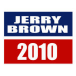 JERRY BROWN FOR GOVERNOR POST CARDS