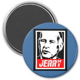 JERRY BROWN REFRIGERATOR MAGNETS