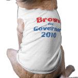 Jerry Brown para el diseño de la estrella del gobe Camisa De Perro