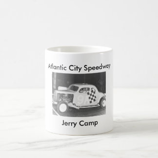Jerry Camp, Atlantic City Speedway Classic White Coffee Mug