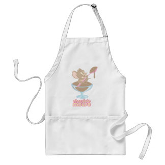 Jerry Chocolate Mouse Adult Apron