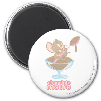 Jerry Chocolate Mouse Fridge Magnet