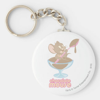 Jerry Chocolate Mouse Key Chains