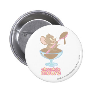 Jerry Chocolate Mouse Pin
