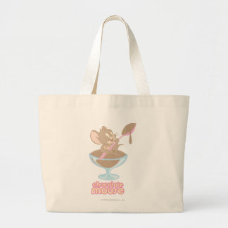 Jerry Chocolate Mouse Tote Bag