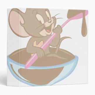 Jerry Chocolate Mouse Vinyl Binders