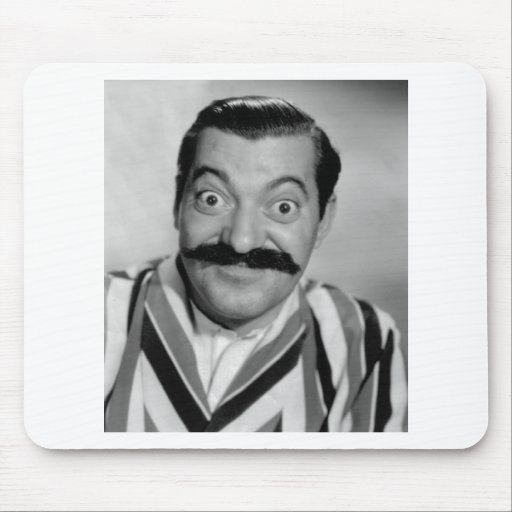 Jerry Colonna Mouse Pad