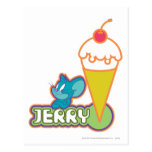 Jerry Ice Cream Postcard