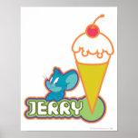 Jerry Ice Cream Poster