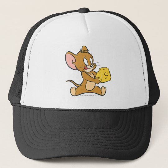 Jerry Likes His Cheese Trucker Hat