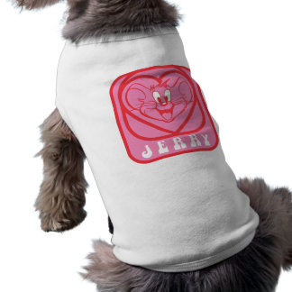 Jerry Pink Hearts Pet Tshirt