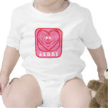 Jerry Pink Hearts Romper