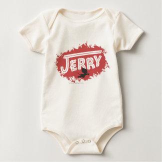 Jerry Silhouette Logo Baby Bodysuit