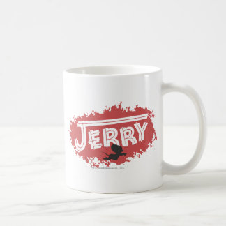Jerry Silhouette Logo Coffee Mug