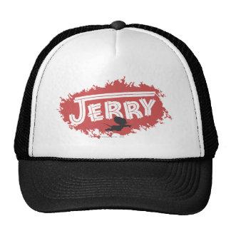 Jerry Silhouette Logo Trucker Hat
