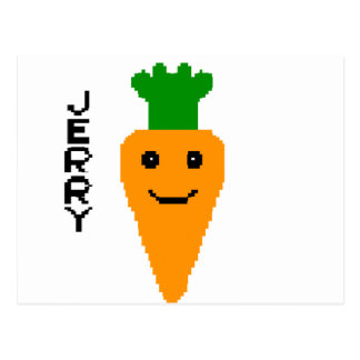 Jerry The Carrot Postcard