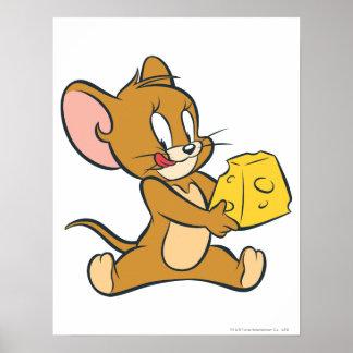 Jerry tiene gusto de su queso poster