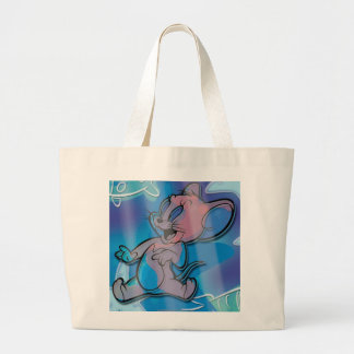 Jerry Trippy Fish Large Tote Bag