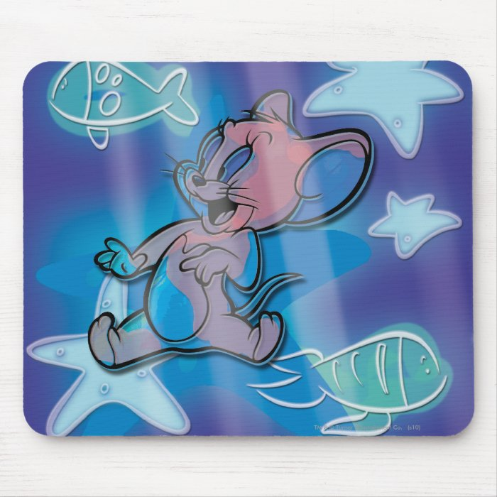 Jerry Trippy Fish Mouse Pad