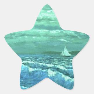 JERRYS Bay by Ave Hurley Star Sticker