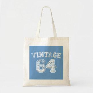 Jersey 1964 del vintage bolsa lienzo