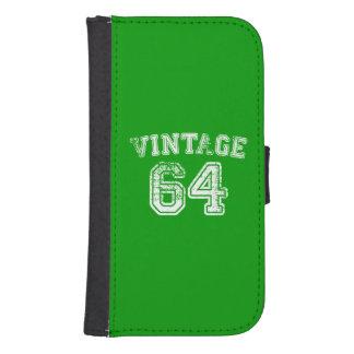 Jersey 1964 del vintage fundas tipo cartera para galaxy s4
