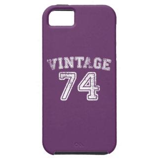 Jersey 1974 del vintage iPhone 5 carcasa