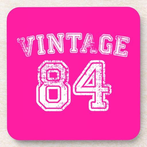 Jersey 1984 del vintage posavasos de bebidas