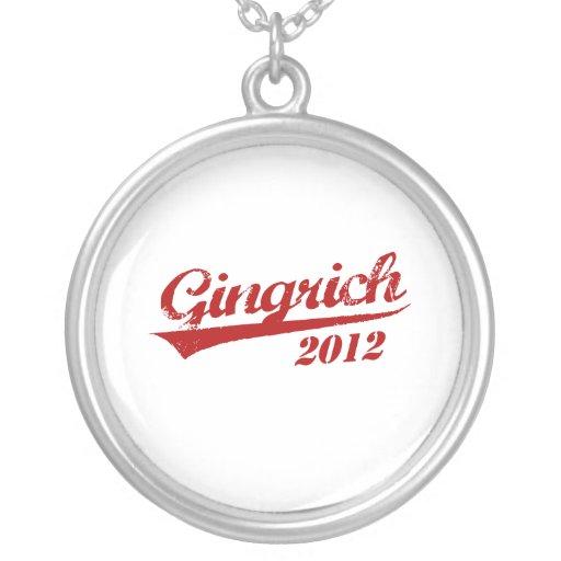 JERSEY 2012 DE GINGRICH COLGANTE REDONDO