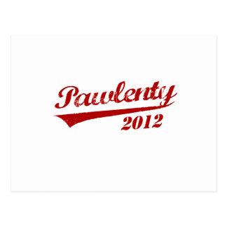 JERSEY 2012 DE PAWLENTY POSTAL