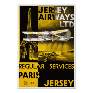 Jersey Airways Posters
