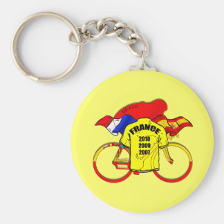 Jersey amarillo de España de los campeones del Tou Llavero Personalizado