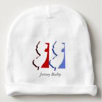"""Jersey Baby"" Cap Baby Beanie"