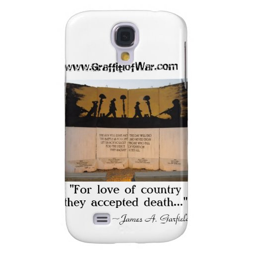 Jersey Barrier Memorial/Garfield Quote Galaxy S4 Cover