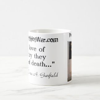 Jersey Barrier Memorial/Garfield Quote Classic White Coffee Mug