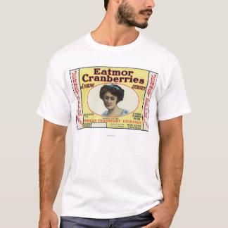 Jersey Belle Eatmor Cranberries Brand Label T-Shirt