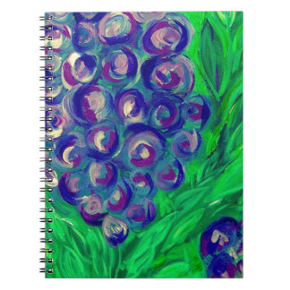 Jersey Blue Spiral Note Books