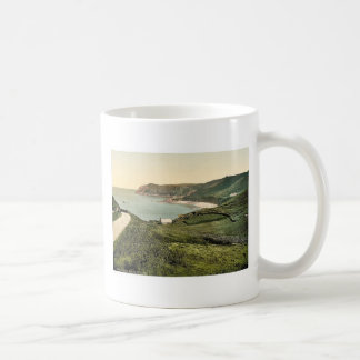 Jersey, Bonne Nuit Bay, Channel Islands, England v Classic White Coffee Mug