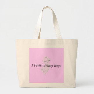 Jersey Boys Canvas Bags